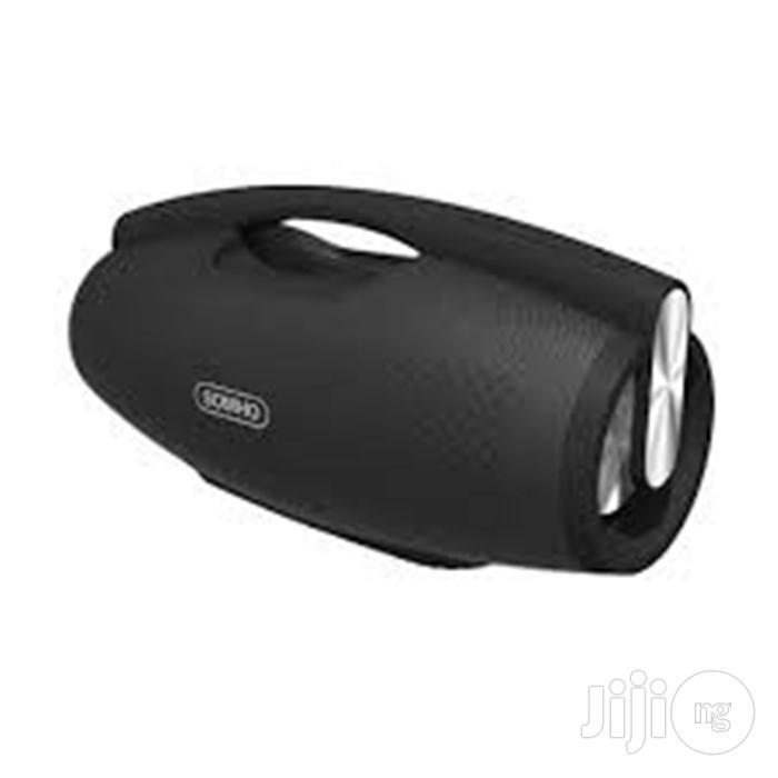 Somho Super Bass 2.1 Portable Bluetooth Speaker S602 - Black