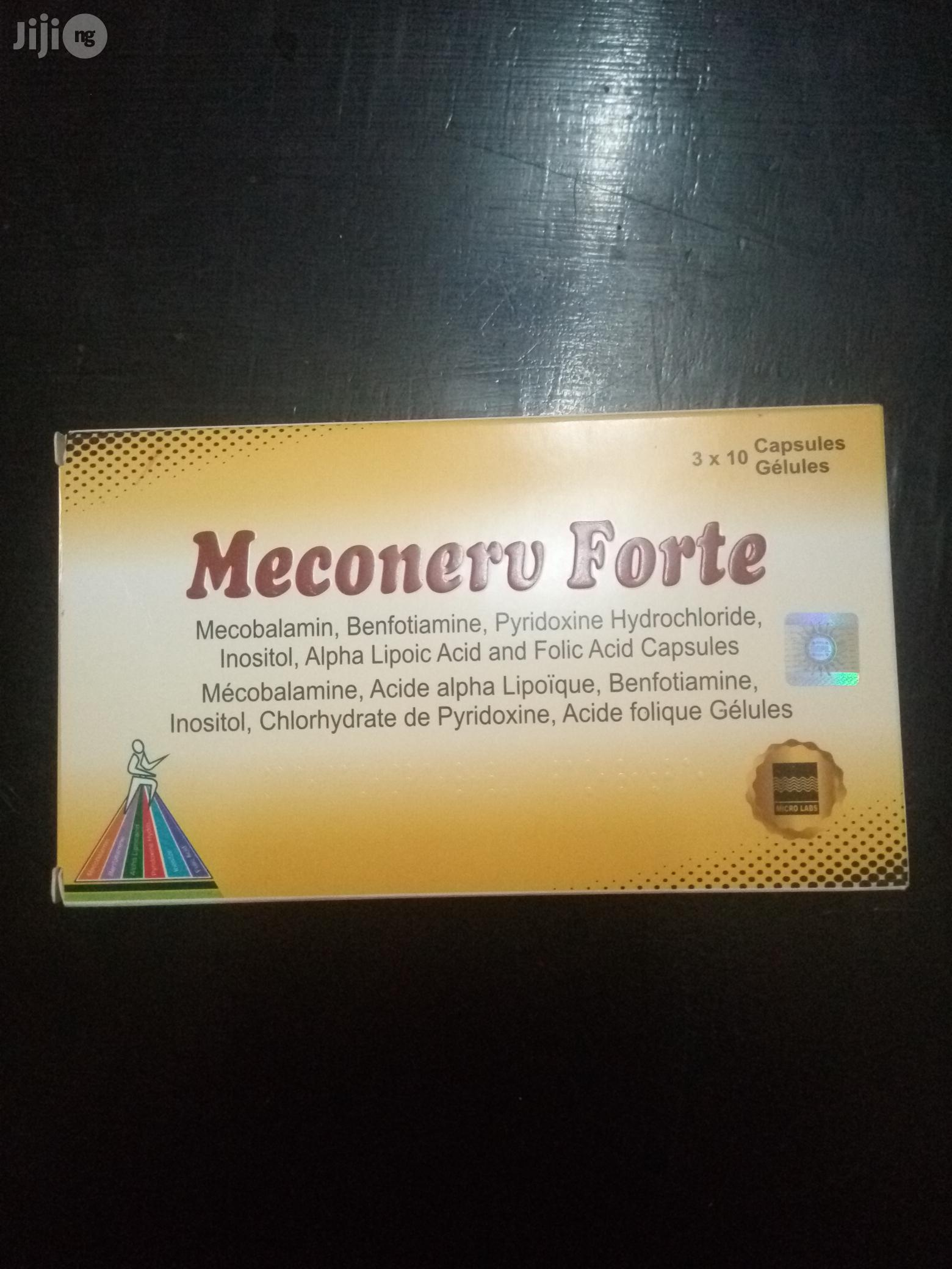 Meconerve Forte For All Health Problems