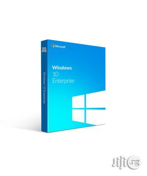 Windows 10 Enterprise - 1 PC (License + DVD) | Software for sale in Lagos State