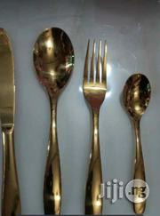 Gold Cutlery Box X24 | Kitchen & Dining for sale in Lagos State, Surulere