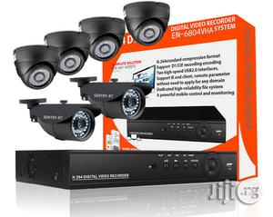 Complete CCTV With 8 Cameras, 8 Chanel DVR Full Kits | Security & Surveillance for sale in Edo State, Benin City