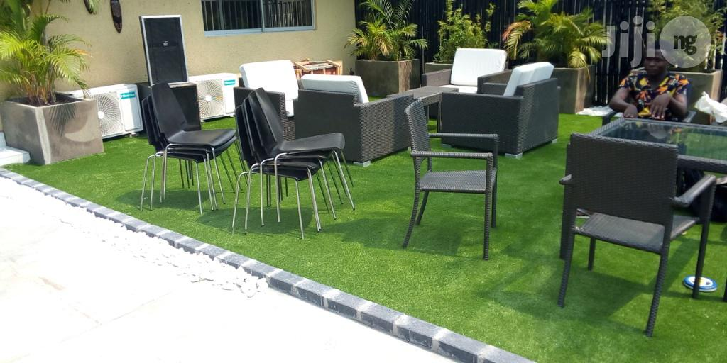 Synthetic Green Turf/Grass For Rent At Ikeja