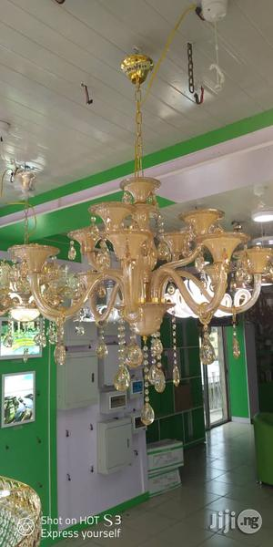 Quality Double Step Crystal Chanderlier Light | Home Accessories for sale in Lagos State, Ojo