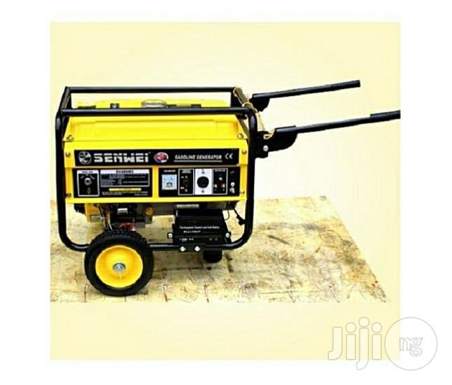 Senwei 4.5 KVA Automatic Key Start Petrol Fuel Generator