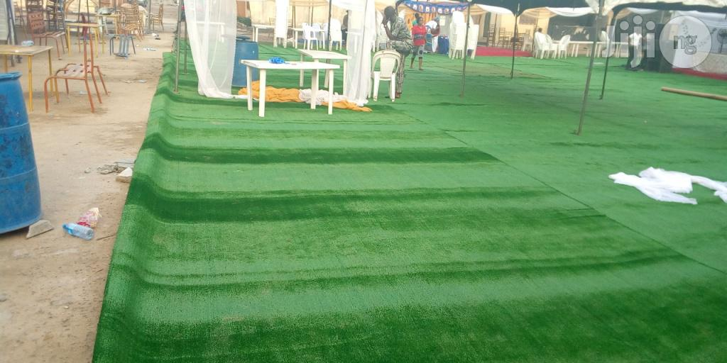 Artificial Green Grass At Ikeja For Hire