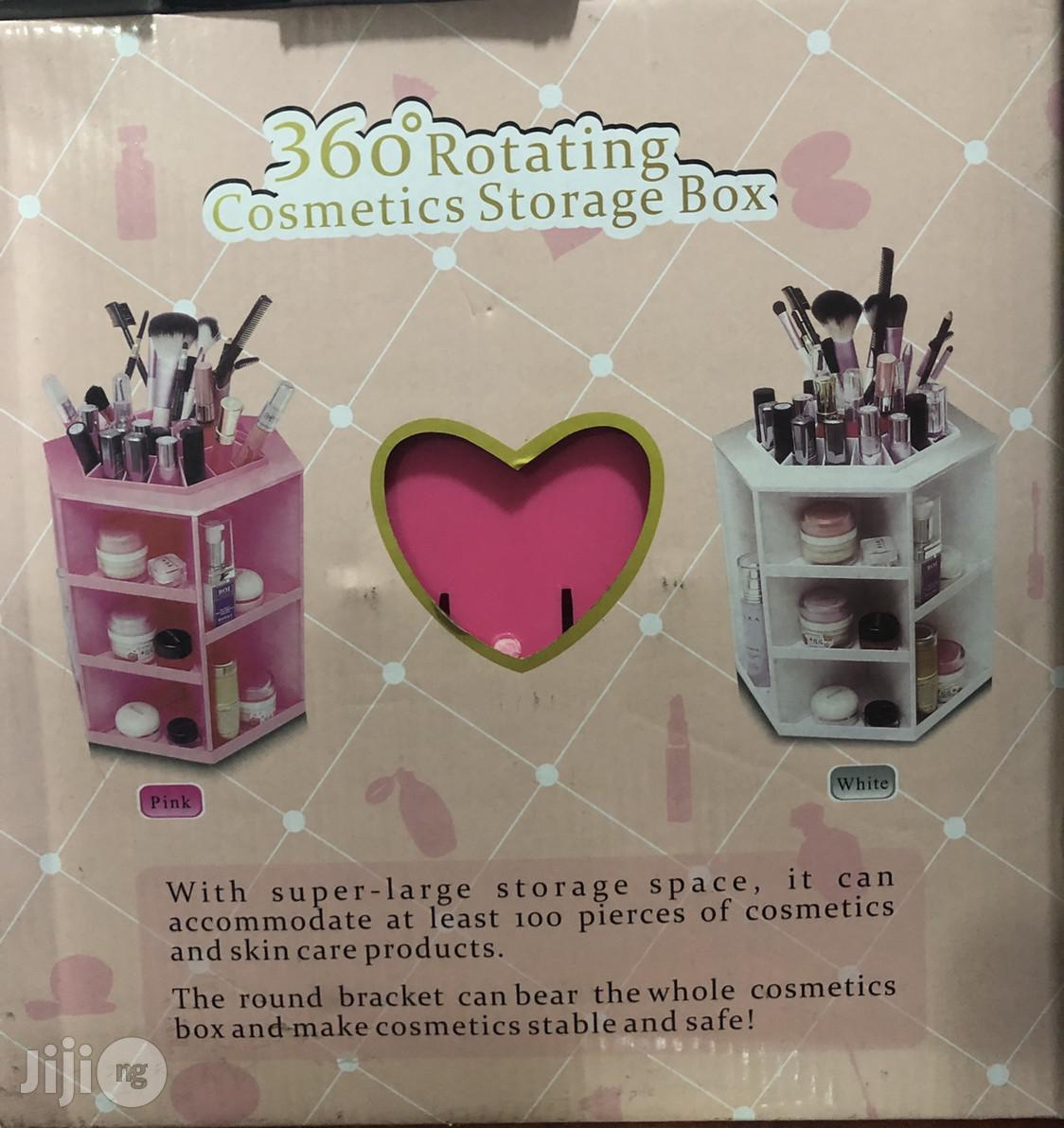 360 Rotating Cosmetics Storage Box | Home Accessories for sale in Lagos Island (Eko), Lagos State, Nigeria