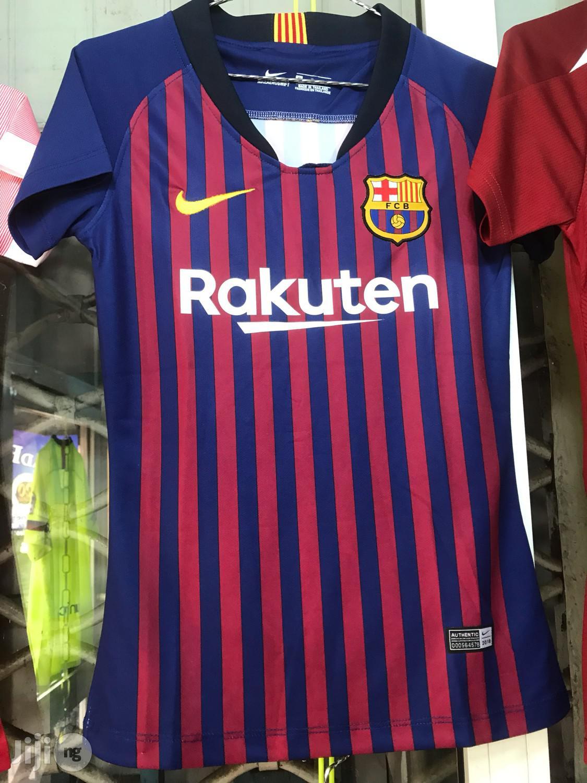 Female Barcelona Jersey