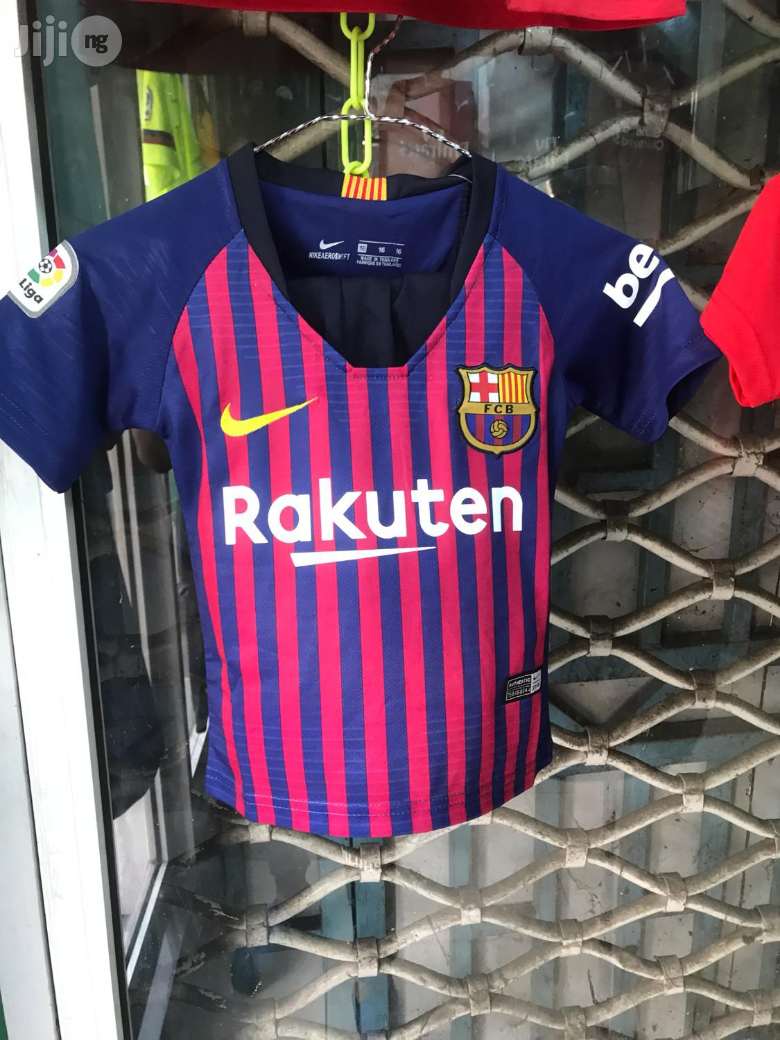 Authentic Barcelona Jersey For Kids