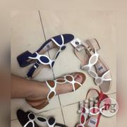 White Design Sandal | Shoes for sale in Lagos State, Ikoyi