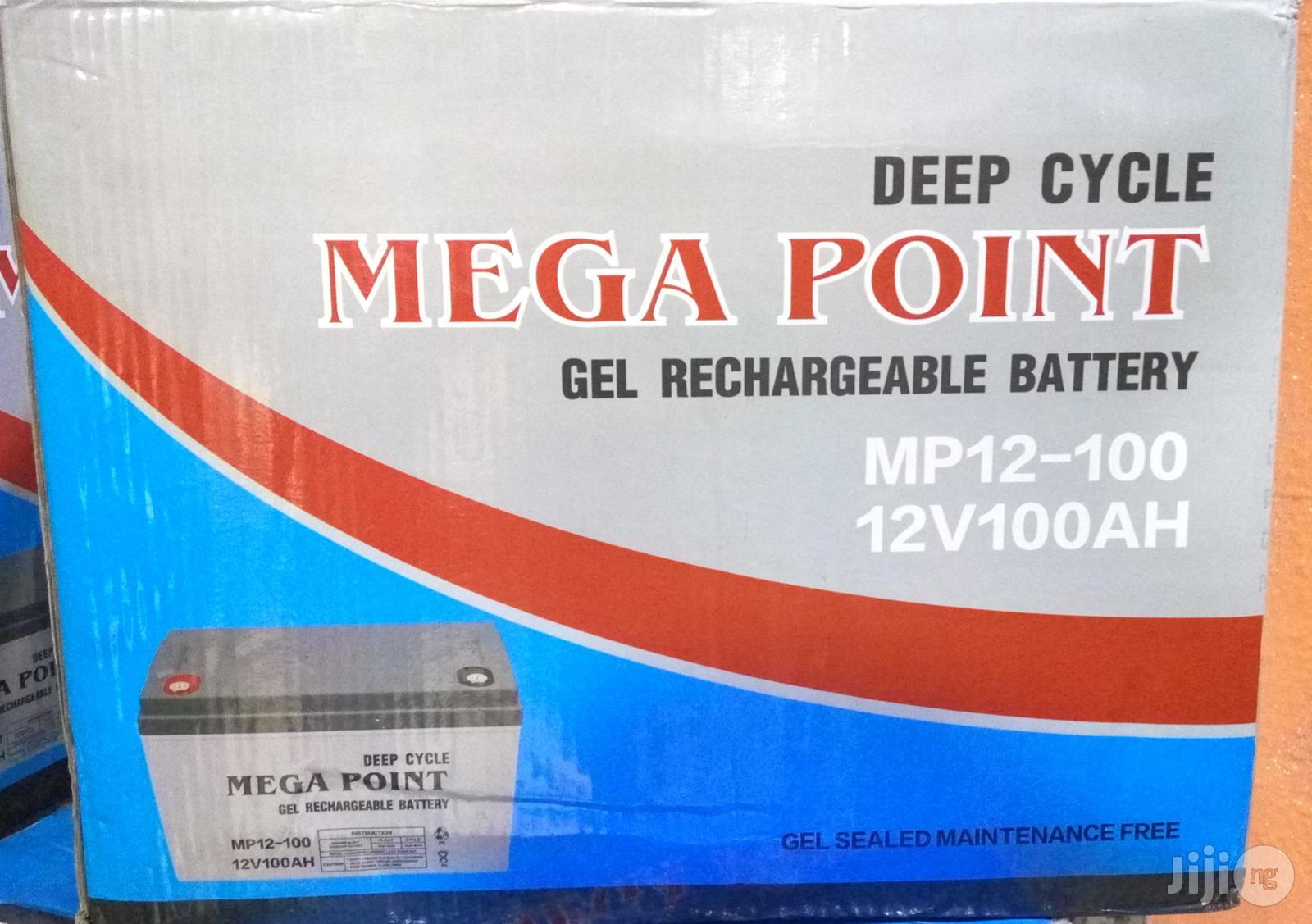 12v 100ah Mega Point Battery