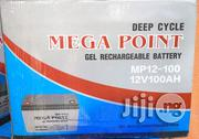 12v 100ah Mega Point Battery | Electrical Equipment for sale in Lagos State, Ojo
