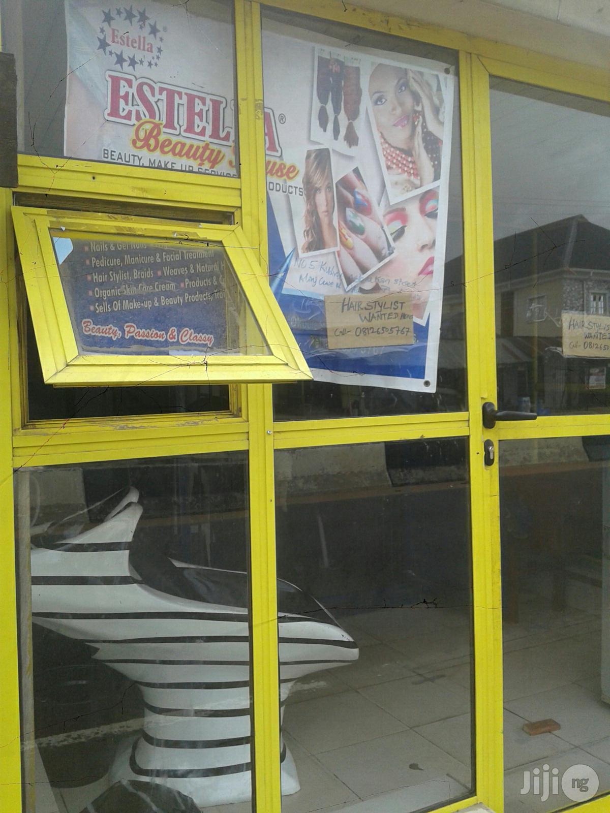 Vacancy For Hairstylist At Estella Beauty Shop Okeafa