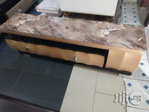 A New First Class Executive Tv Shelve With Marble Top   Furniture for sale in Lagos State, Ajah
