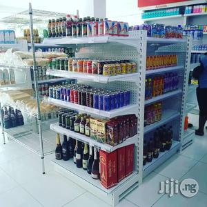 Standard And Professional High Quality Supermarket Shelves For Display | Store Equipment for sale in Lagos State
