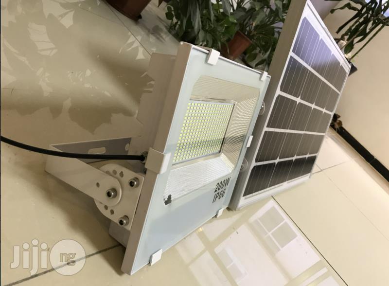 200watt High Brightness Multipurpose Solar Security Floodlight