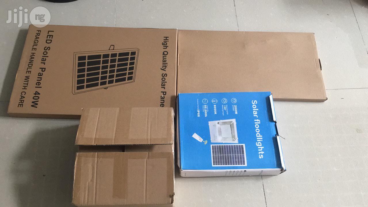 200watt High Brightness Multipurpose Solar Security Floodlight | Solar Energy for sale in Amuwo-Odofin, Lagos State, Nigeria
