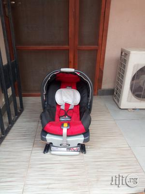 Tokunbo UK Used Chicco Baby Car Seat From Newborn To 2years (Red N Black) | Children's Gear & Safety for sale in Lagos State, Ikeja