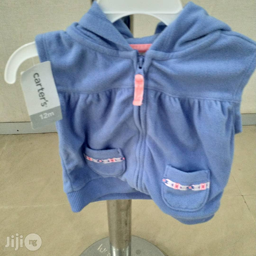 Archive: Carter's Blue Hooded Top 12months