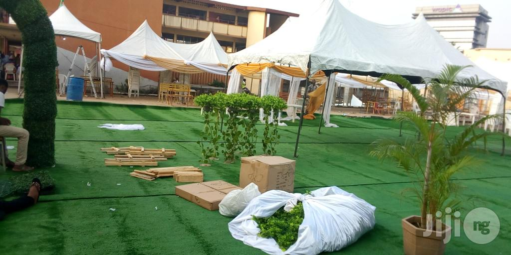 Artificial Green Grass For Hire In Lagos
