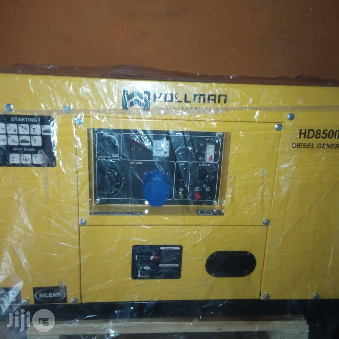 10kva Hollman German Generator   Electrical Equipment for sale in Port-Harcourt, Rivers State, Nigeria