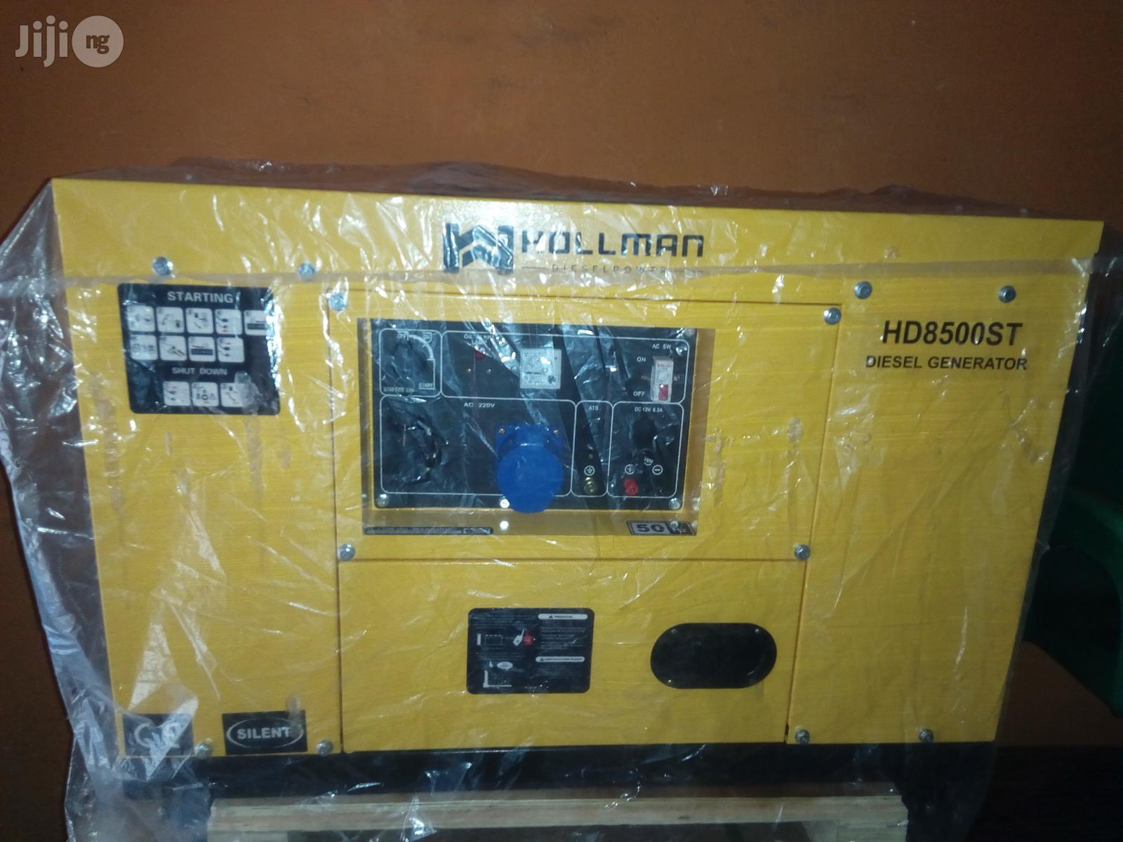 10kva Hollman German Generator