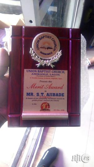 Presentable Wooden Plaque Award   Arts & Crafts for sale in Lagos State, Ikeja