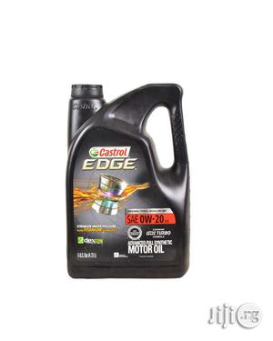 Castrol Edge Advanced Full Synthetic Engine Oil 0w20   Vehicle Parts & Accessories for sale in Lagos State, Mushin
