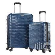 Samsonite 2pc Samsonite Tread Case Blue Hardshell Spinner Suitcase Luggage Set | Bags for sale in Lagos State