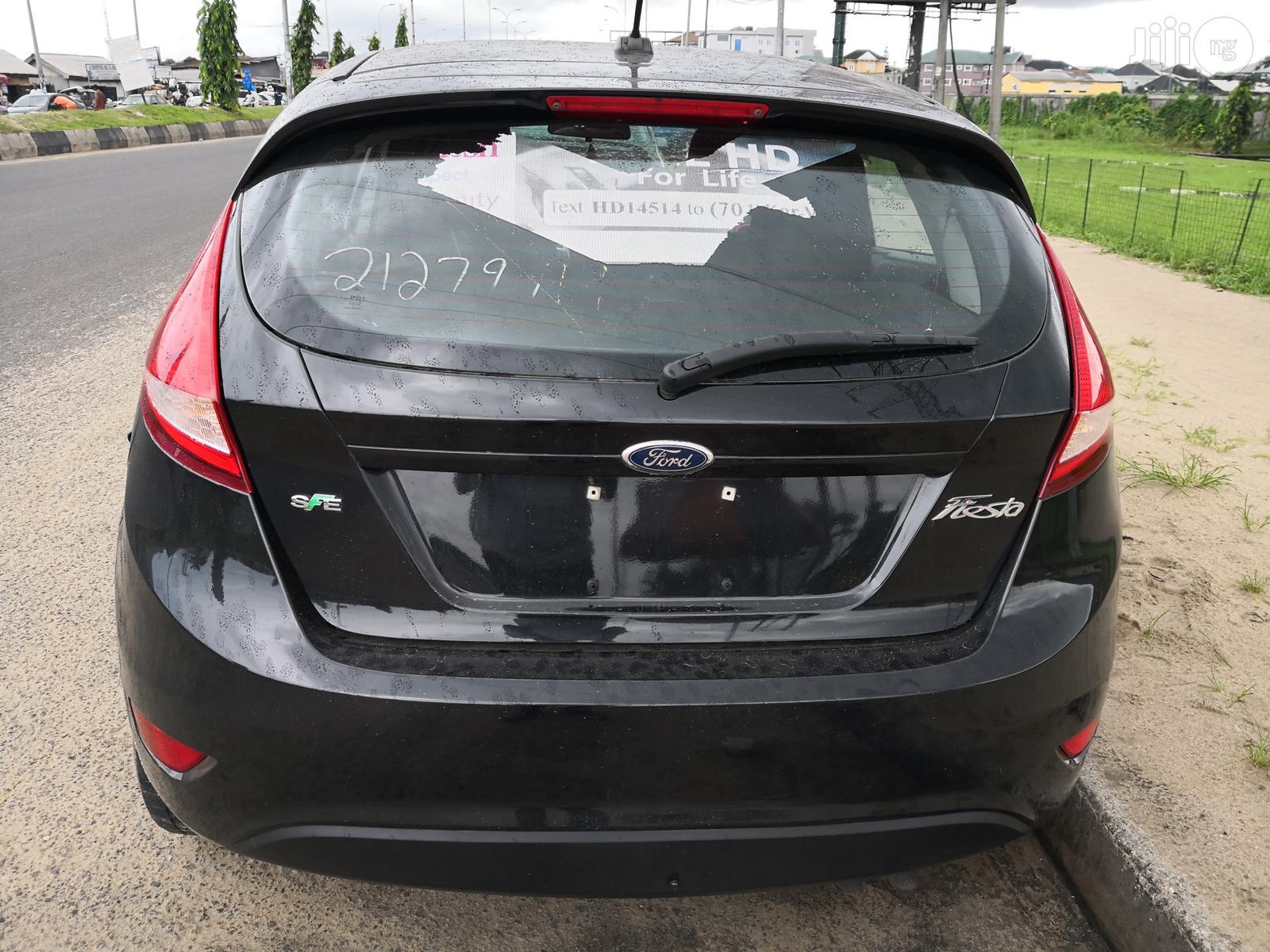 Archive: Ford Fiesta 2012 Black