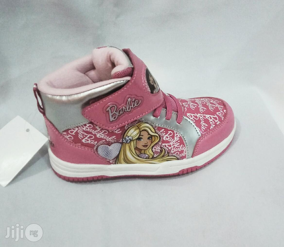 Archive: Disney Princess High Top Canvas Sneakers for Girls