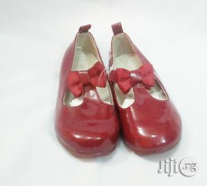 Maroon Red Colored Flat Shoe for Girls   Children's Shoes for sale in Lagos State, Lagos Island (Eko)
