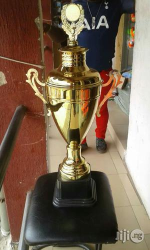 Gold Trophy Nd Awards | Arts & Crafts for sale in Lagos State, Ikeja