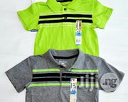 On Sales:Boys Collared Shirt With Stylish Pocket. Ages 3months-6yrs .   Children's Clothing for sale in Abuja (FCT) State, Gwarinpa