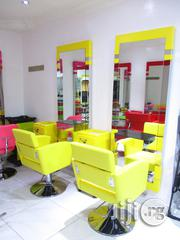 Salon Chair And Mirrio | Salon Equipment for sale in Lagos State, Surulere