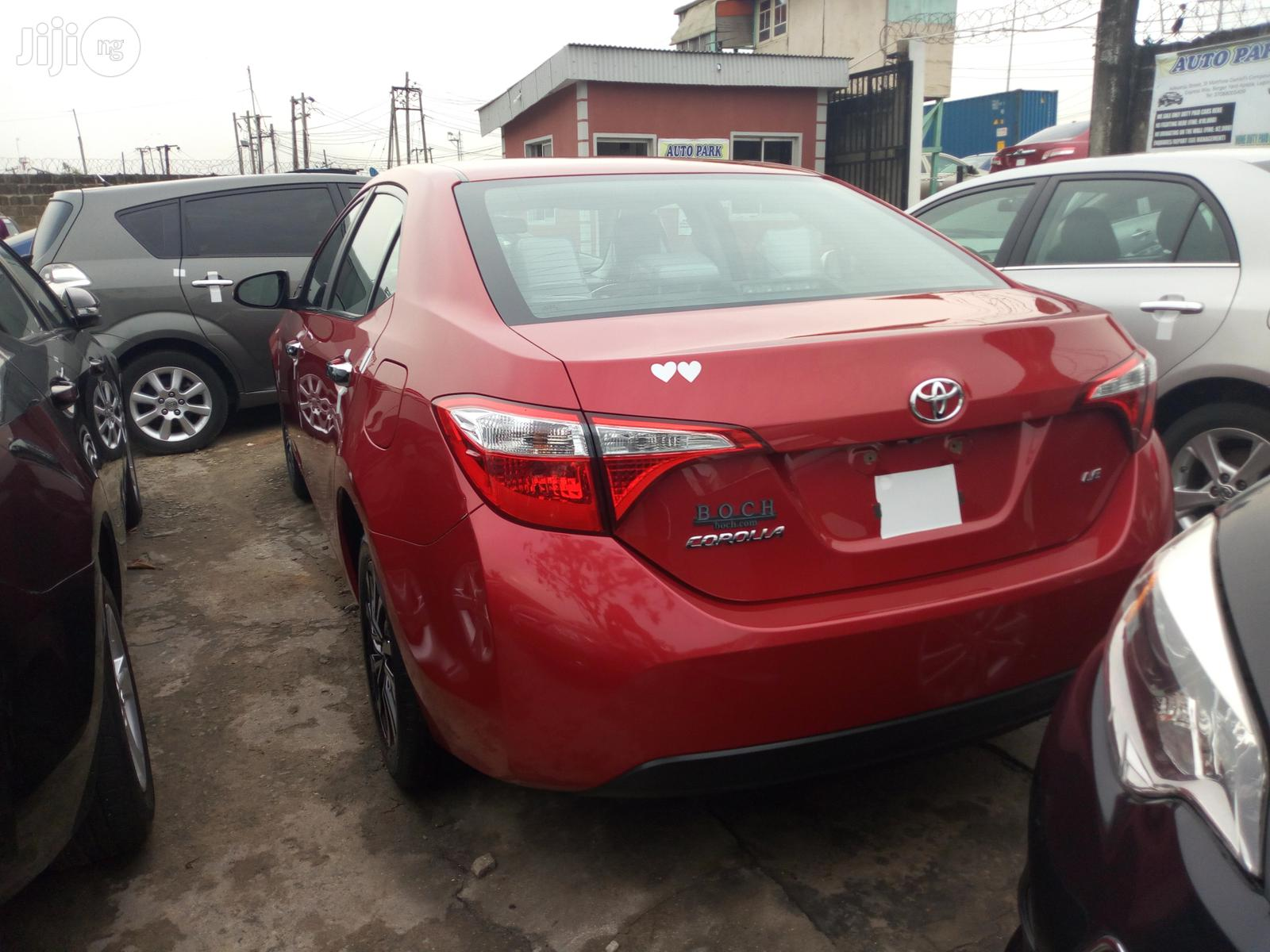 Toyota Corolla 2015 Red | Cars for sale in Apapa, Lagos State, Nigeria