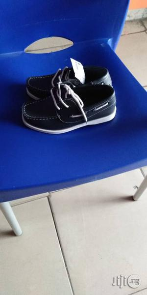 Navy Blue Boat Shoes For Boys   Children's Shoes for sale in Lagos State, Lagos Island (Eko)