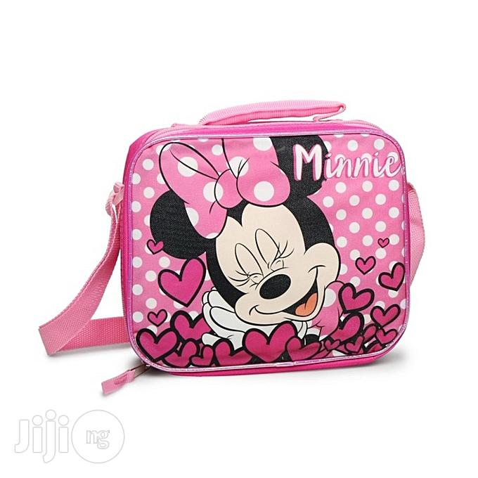 Disney Pink Minnie Mouse Lunch Box
