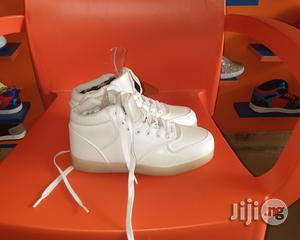 White Led Canvas Sneakers | Children's Shoes for sale in Lagos State, Lagos Island (Eko)