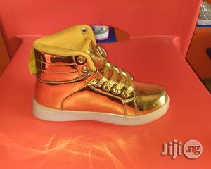 Gold Colored High Top Canvas   Children's Shoes for sale in Lagos State, Lagos Island (Eko)
