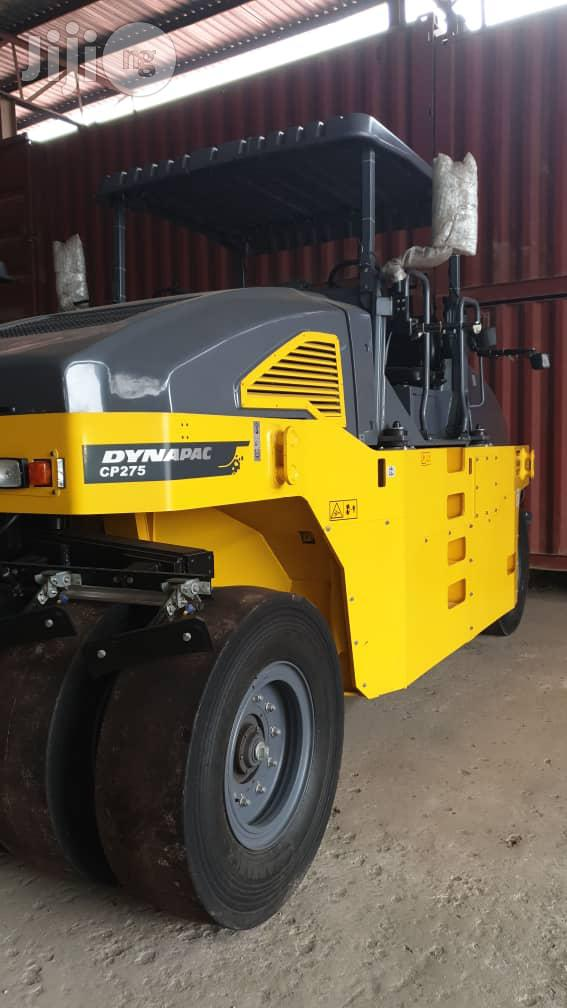 Archive: Dynapac Cp275 Roller