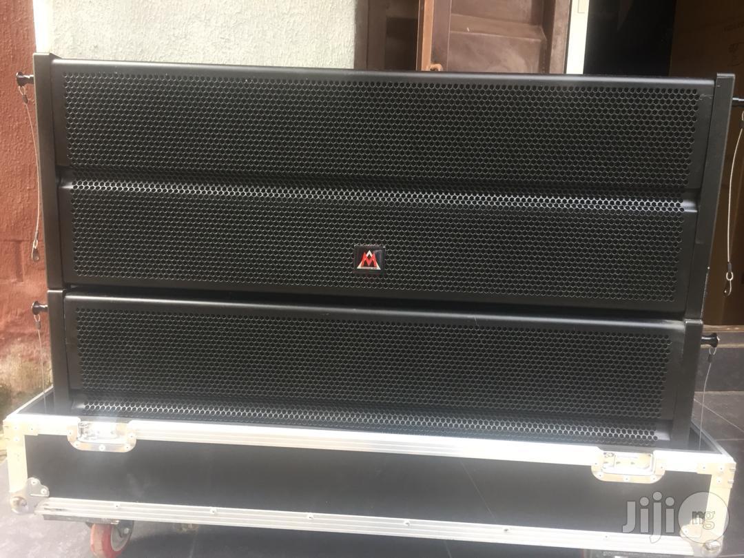 M Audio W10L Linearray Speakers