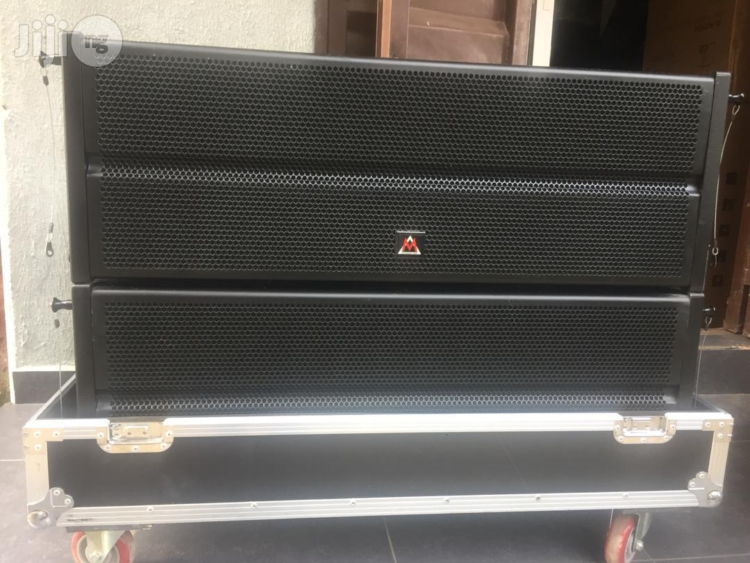 M Audio W10L Linearray Speakers   Audio & Music Equipment for sale in Ojo, Lagos State, Nigeria