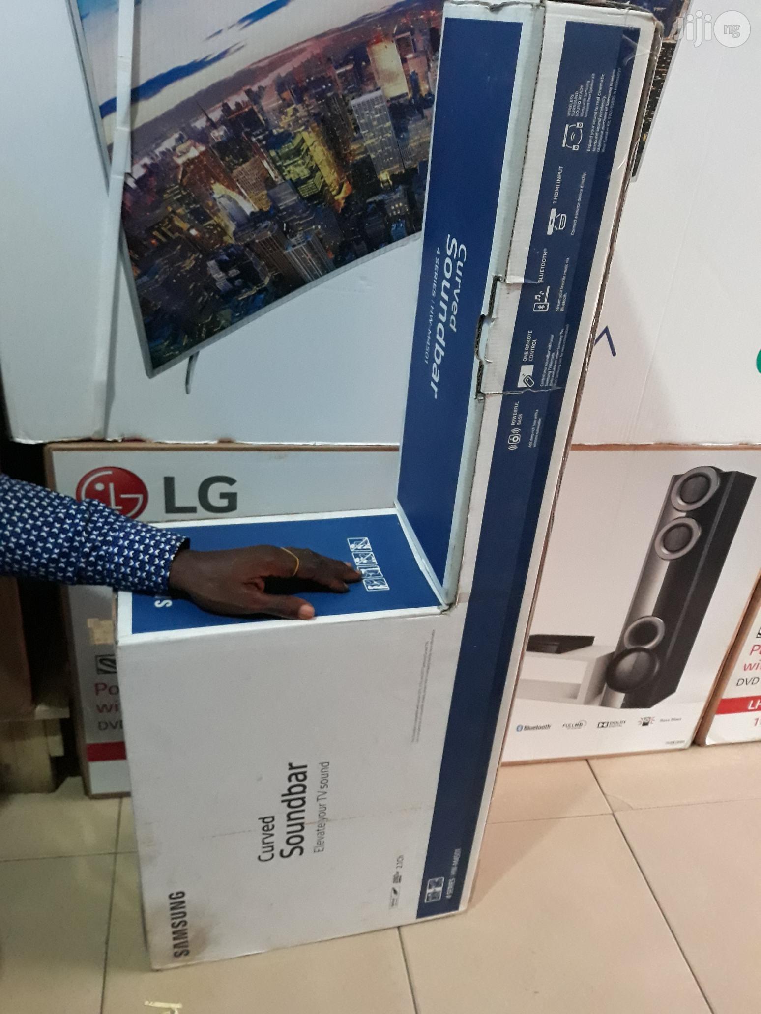 Brand New Samsung Curve Soundbar | Audio & Music Equipment for sale in Ojo, Lagos State, Nigeria
