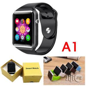Archive: A1 Smartwatch Smart Watch Single Sim GSM, Bluetooth, Memory Card Slot Camera for Android and iPhone-black