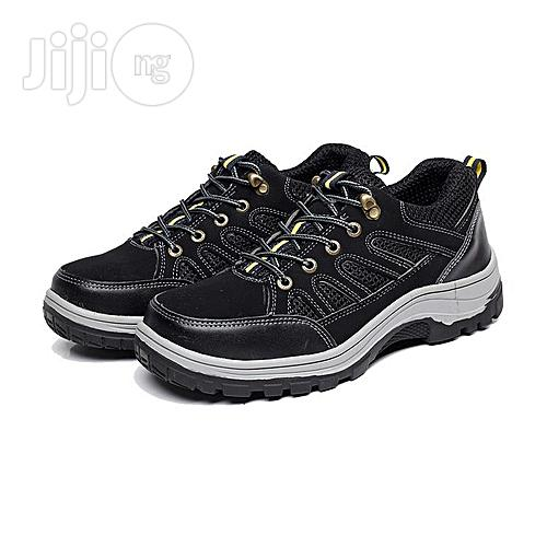 Anti Smashing Puncture Proof Outdoor Safty Work Shoes