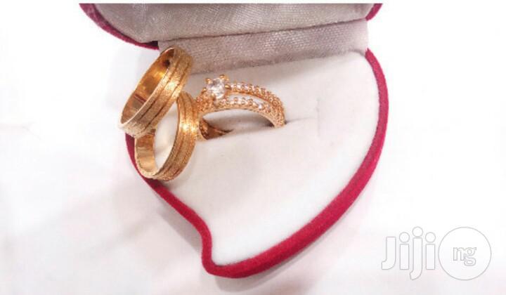 Original Romanian Gold Wedding Engagement Ring RG10- Gold
