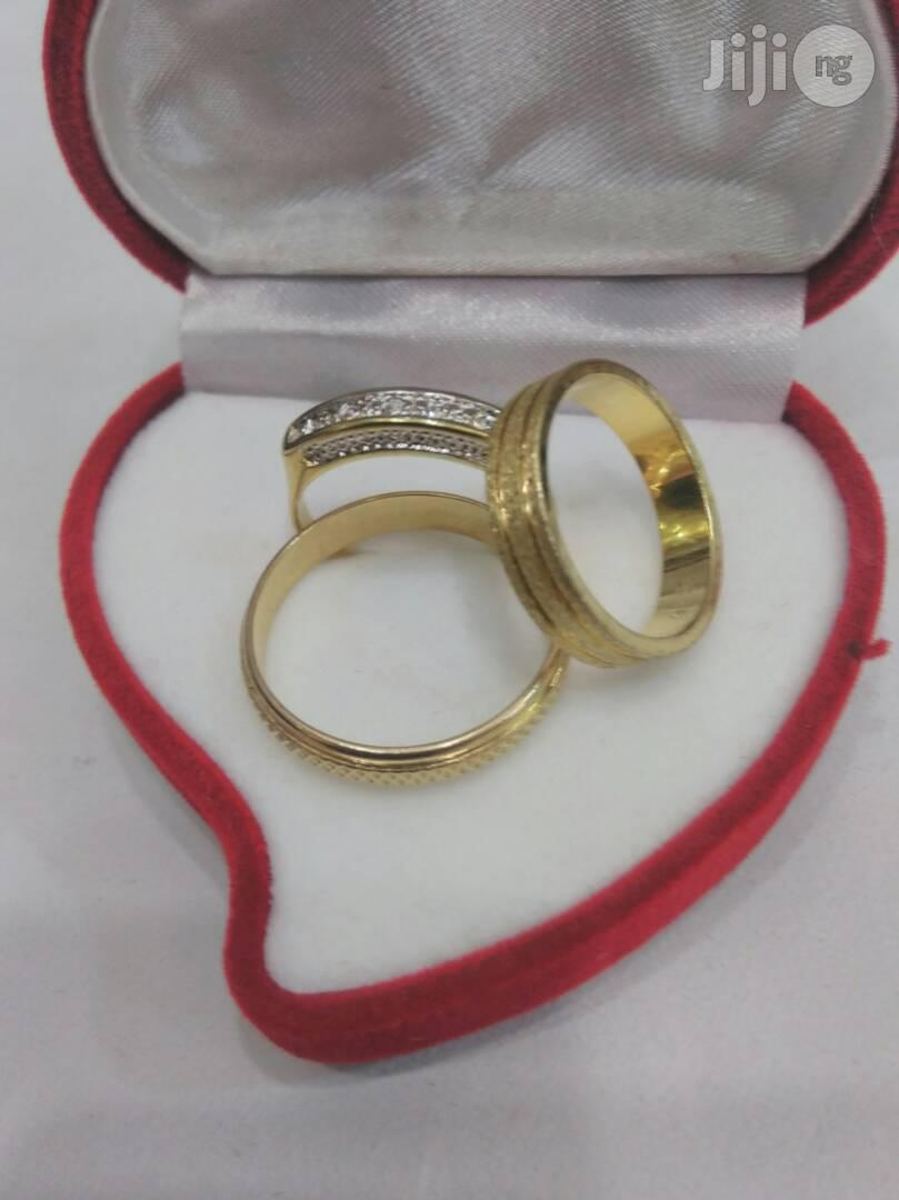 Brand New Romanian Gold Couples Wedding Ring Engagement Rings RG9