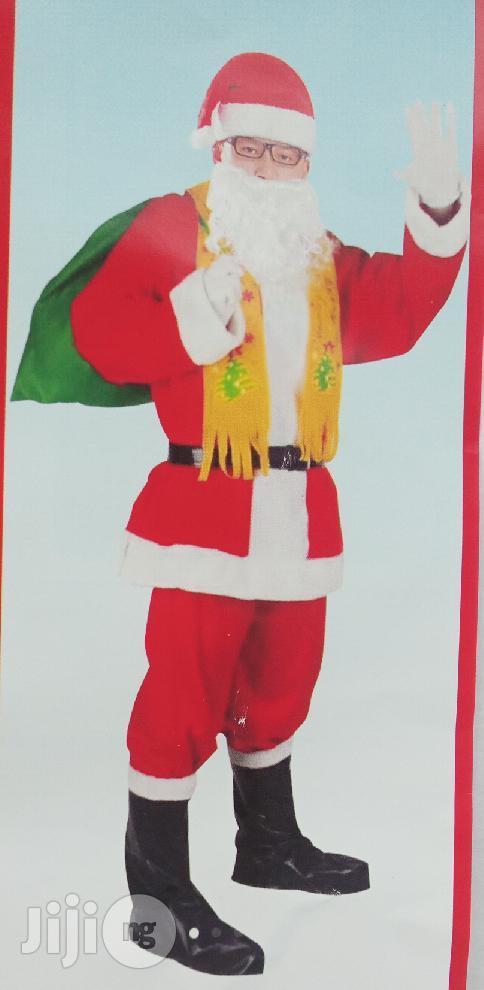 Santa Clause Complete Costume
