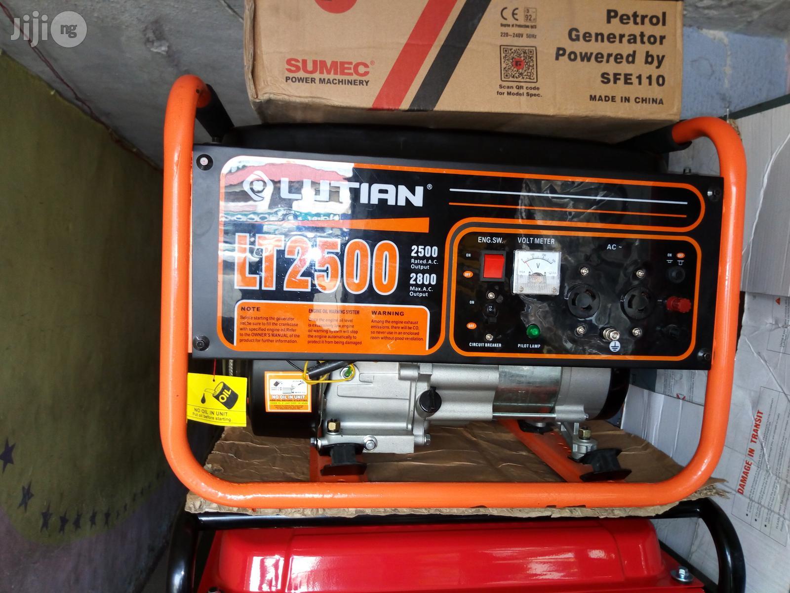 Archive: 2.8kva Lutian Generator