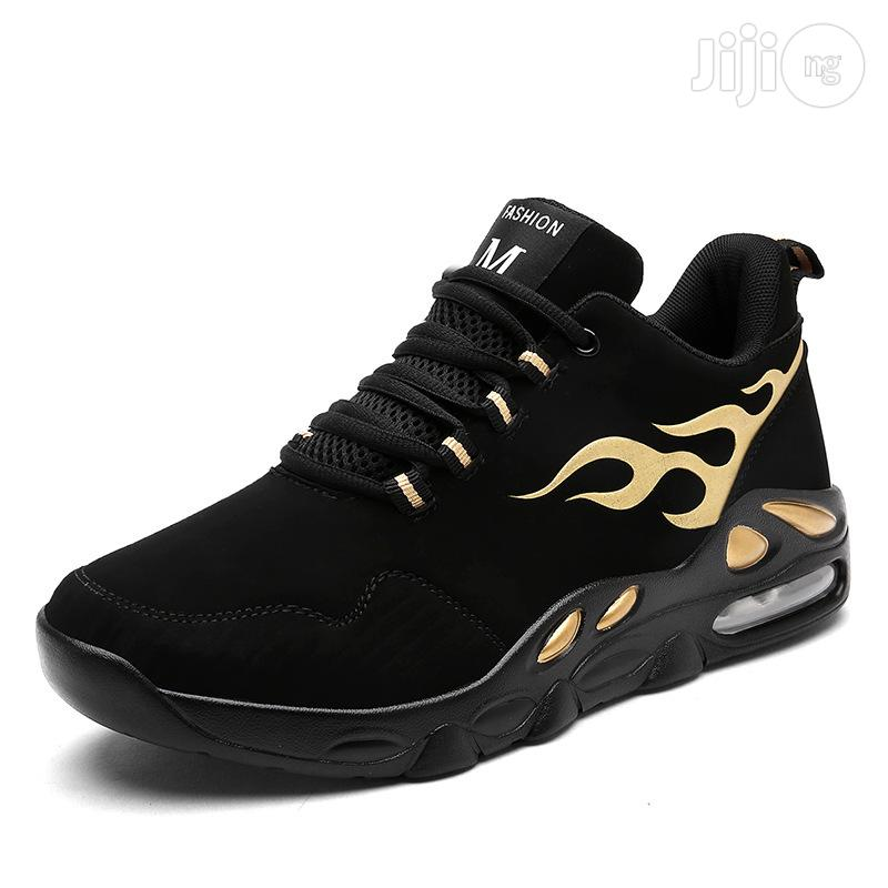 Classic Men Sneakers Casual Breathable Running Sports Shoes | Shoes for sale in Lagos State, Nigeria